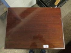 Edwardian mahogany finve-drawer drop-front Music Chest, width 68cm
