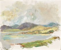 John Hanbury Tracey (20th Century), Lakeland Scene, oil on canvas, signed and inscribed verso, 41 x