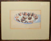 •AR Diana Baer (20th/21st century), Still Life Studies, group of three watercolours, 12 x 19cm (3)