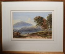 English School (19th century), Lakeland scenes, group of three watercolours, each approx 17 x