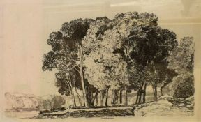 "John Sell Cotman (1782-1842), ""Twickenham"", ""On the Yare, Norfolk"", ""Postwick Grove, Norfolk"""