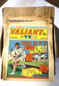 Collection of comics, mainly from the early 1970s including Valiant, The Dandy, Whizzer, Tiger and