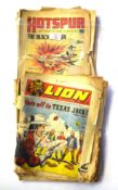 Group of English comics, late 1960s/early 1970s including Lion, Wizard and The Victor (qty)