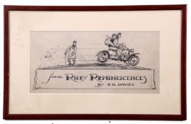 "•AR Frederick Gordon Crosby (1885-1943) , ""Some Riley Reminiscences"", pen and ink design for"