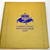 Coronation souvenir book for 1937 for George VI, published by The Daily Express
