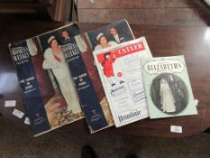 EPHEMERA, JULY 1926, 1950S TATLER TOGETHER WITH TWO 1950S WOMEN'S WEEKLY COMMEMORATING THE QUEEN