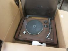 BOXED 1980S SONY PS212A RECORD PLAYER