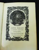 POWYS MATHERS: LOVE NIGHT, A LAOTIAN GALLANTRY, ill John Buckland Wright, London, The Golden