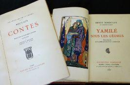 HENRY BORDEAUX: YAMILE SOUS LES CEDRES, ill Suzanne-Raphaele Lagneau, Paris, Henri Cyral, 1927 (