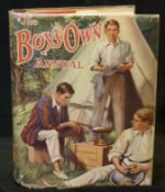 THE BOYS OWN ANNUAL, 1933-34 vol 56, 4 coloured plates as called for, 4to, original pictorial cloth,