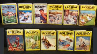 THE GREYFRIARS HOLIDAY ANNUAL, 1931-41, 11 vols, original cloth backed pictorial boards, (11)