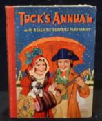 TUCK'S ANNUAL WITH REALISTIC SURPRISE PANORAMAS, ill C E Brock, Gordon Robinson and others,