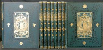 WILLIAM SHAKESPEARE: THE LIBRARY SHAKSPEARE, ill Sir John Gilbert, George Cruikshank and R Dudley,