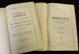A M LAUGHTON & T S HALL: HANDBOOK TO VICTORIA PREPARED FOR THE MEMBERS OF THE BRITISH ASSOCIATION