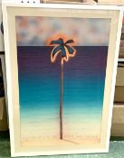 *D G SMITH: NEW YORK ART EXPO 1984, coloured lithoprint, Winn Publishing, approx 860 x 550mm,