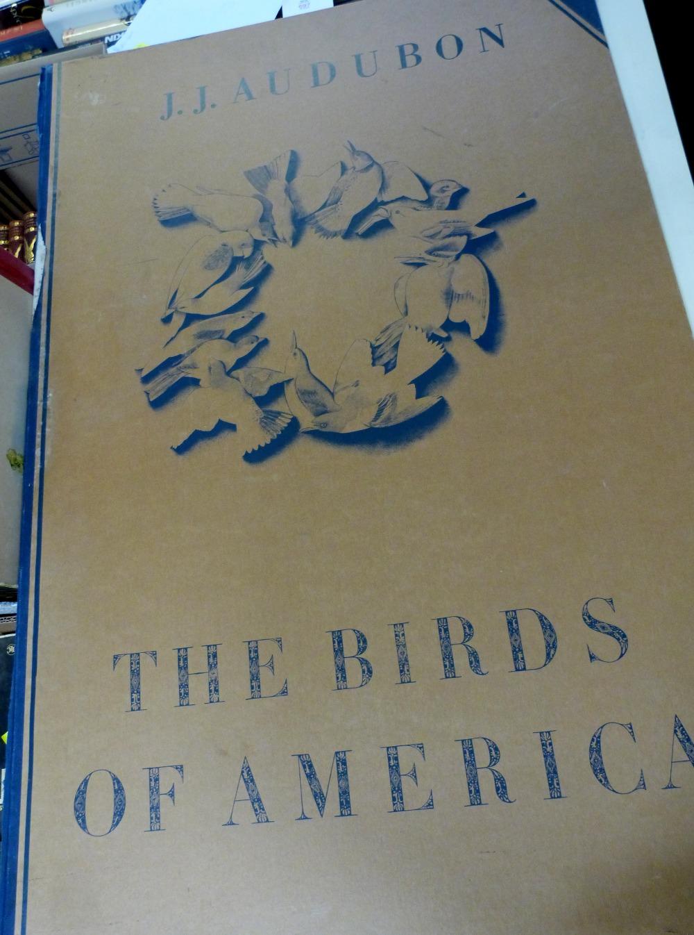 Lot 697 - *JOHN JAMES AUDUBON: BIRDS OF AMERICA, A SELECTION OF LANDSCAPE PLATES, Ariel Press, 1973, (1000),
