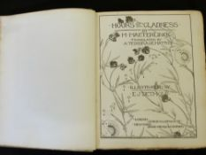 MAURICE MAETERLINCK: HOURS OF GLADNESS, ill E J Detmold, London, George Allen, New York, Dodd