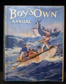 THE BOYS OWN ANNUAL, 1930-31, vol 53, 12 plates including 8 coloured as list, 4to, original