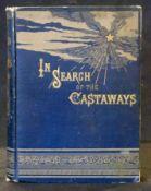 JULES VERNE: IN SEARCH OF THE CASTAWAYS..., Philadelphia, J B Lippincott, 1873, original