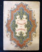 PICTORIAL TIMES (PUB): PANORAMA FROM THE THAMES, (title taken from verso of front cover), [1845],