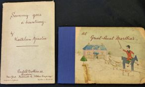 KATHLEEN AINSLIE: 2 titles: AT GREAT-AUNT MARTHA'S, London, Castell Bros [1904], 1st edition, 16
