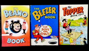 THE BEANO BOOK, [1965] annual, 4to, original pictorial laminated boards, vgc + THE BEEZER BOOK [
