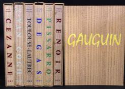 ROBERT GOLDWATER: PAUL GAUGUIN + MEYER CHAPIRO: VINCENT VAN GOGH - PAUL CEZANNE + D CATON RICH: