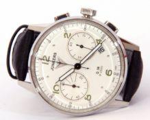 Last quarter of 20th century/first quarter of 21st century gentleman's stainless steel cased wrist