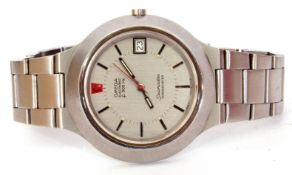 Gent's second quarter of 20th century stainless steel cased Omega Seamaster Chronometer,
