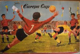 Boxed Europa Cup football game manufactured by Technofix, West Germany