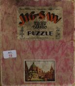 Boxed wooden jigsaw puzzle published by The Great Western Railway Co, mfd by Chad Valley,