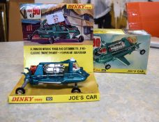 Dinky model of Joe 90s car with original box and packaging