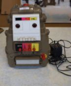1970s robot, manufactured in Taiwan, with 8-track cassette question and answer for children
