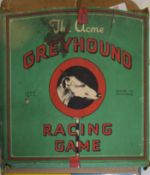 Boxed version of The Greyhound game manufactured by Acme