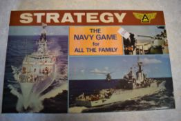 Boxed Navy game of Strategy manufactured by Ariel