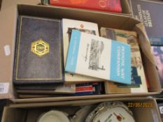 BOX CONTAINING QUANTITY OF VARIOUS SMALL BOOKS