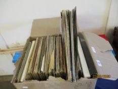 BOX CONTAINING GOOD QUANTITY OF LP VINYLS INC DWANE EDDY, THE NEW SEEKERS, BILL HALEY ETC