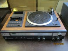 1970S PYE STEREO MUSIC SYSTEM (NOTE: NO SPEAKERS)