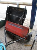 "HUSQVARNA SWEEPER ATTACHMENT ""820 SWEEPER"" & COLLECTOR"