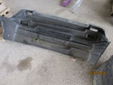 3 CAR BUMPERS (AS UNUSED)