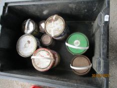 VARIOUS TINS OF PAINT