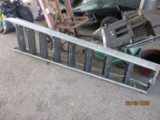 SET OF METAL FOLDING STEPS