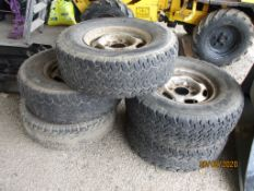 5 TYRES AND WHEELS