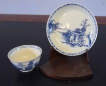Chinese porcelain tea bowl and saucer from the Nanking Cargo