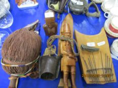 QUANTITY OF VARIOUS TRIBAL AND OTHER TREEN