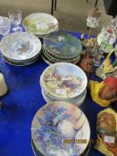 COLLECTION OF MODERN COLLECTORS PLATES