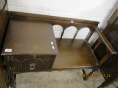 1960S/70S REPRODUCTION TELEPHONE SEAT, WIDTH APPROX 93CM