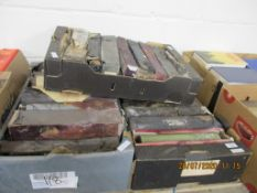 THREE BOXES CONTAINING ASSORTED PIANOLA ROLLS (LARGE QUANTITY)