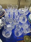 QUANTITY OF VARIOUS MODERN GLASSES AND OTHER GLASS WARE