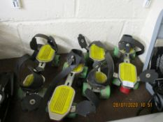 TWO VINTAGE PAIRS OF ROLLER SKATES